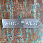 Engraved Selenite Wand - Witch of the West