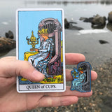 Queen of Cups Enamel Pin