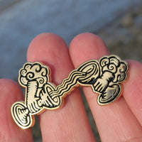 Temperance Hands Metal Tarot Pin