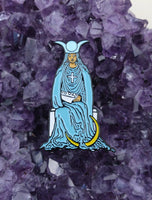 The High Priestess Enamel Tarot Pin