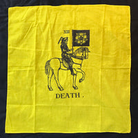 Death on Horsey Spirit Cloth Tarot Cloth Wall Hanging