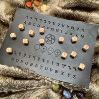 Leather Casting Mat - Theban & elements