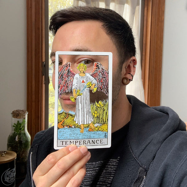 Tarot Card Cut Out - Temperance