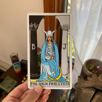 Tarot Card Cut Out - The High Priestess