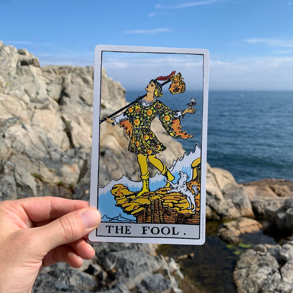 Tarot Card Cut Out - The Fool
