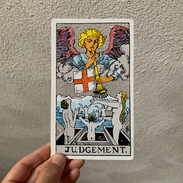 Tarot Card Cut Out - Judgement