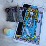 Earrings of The High Priestess