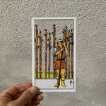 Card Cut Out - Nine of Wands