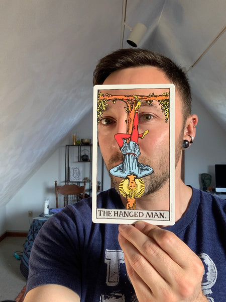 Tarot Card Cut Out - The Hanged Man