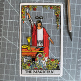Tarot Card Cut Out - The Magician