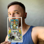 Tarot Card Cut Out - The Chariot