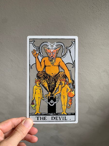 Tarot Card Cut Out - The Devil