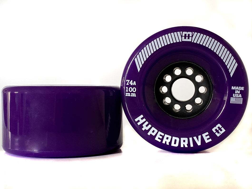 HyperDrive 74A 100mm Electric Skateboard Wheels