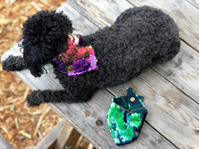 Mermaid Purple Flip Sequin Pet Bandana.