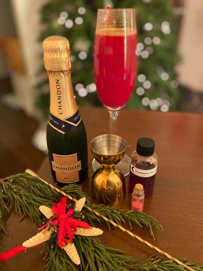 NON-Alcoholic New Years Midnight Cheers Sparkling Cocktail Kit