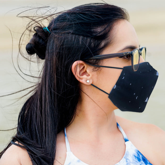 Navy Sunset KN95 Pattern Mask