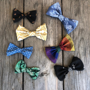 Gold Deco Bow. For You or Your Pets.  Bowties, Headbands, Hair Clip Hair ties.