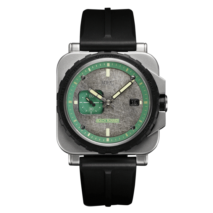 REC WATCHES BEACHRUNNER : Made from a Classic Land Rover