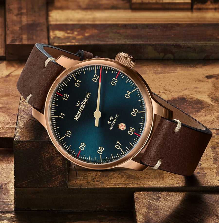 MeisterSinger Bronze Line : Nº3 - The Independent Collective Watches