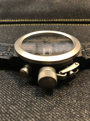 UBOAT Flight Deck 50mm : Titanium - The Independent Collective Watches
