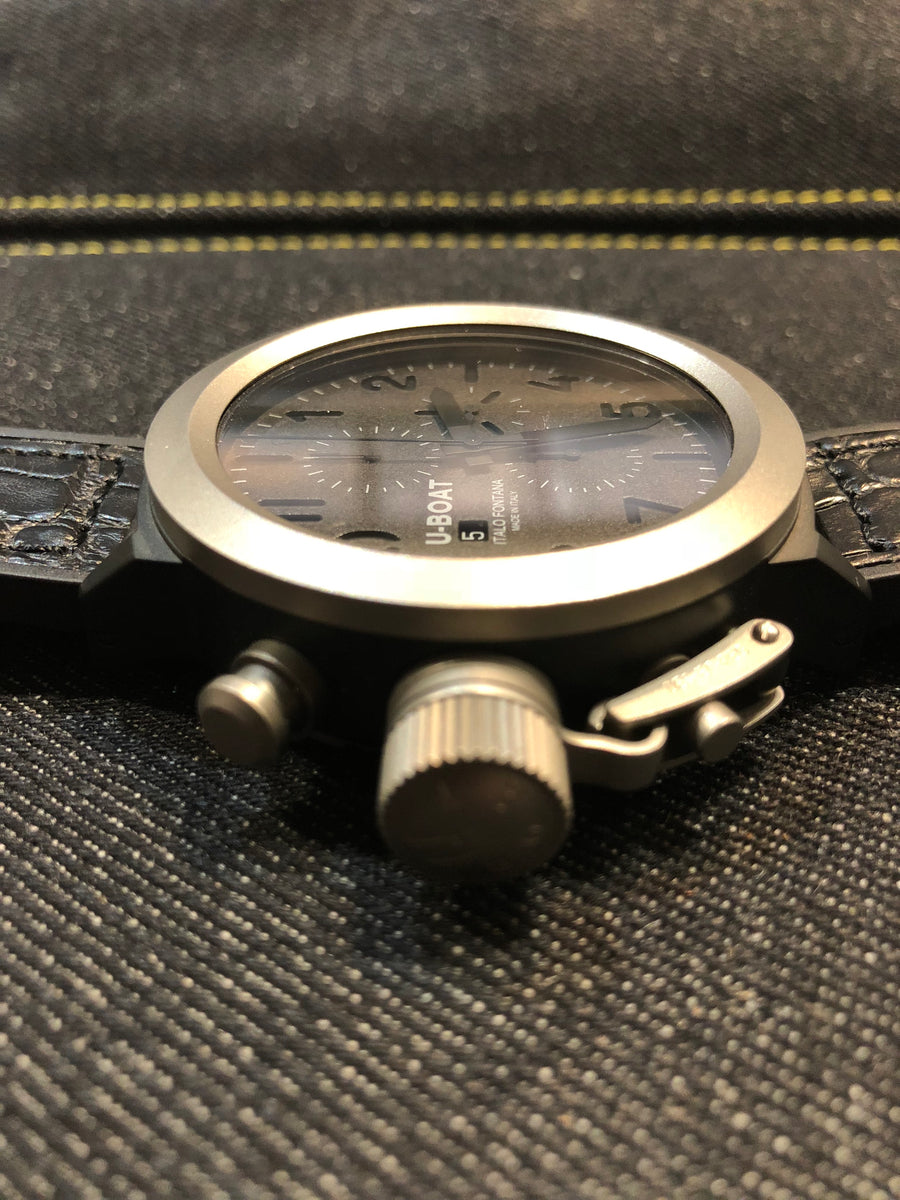 UBOAT Flight Deck 50mm : Titanium