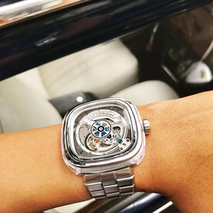 SEVENFRIDAY S1/01 CRYSTAL CLEAR : METAL UPGRADE - The Independent Collective Watches