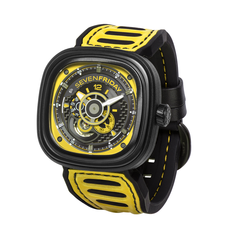 SEVENFRIDAY P3B/03: Racing Team YELLOW