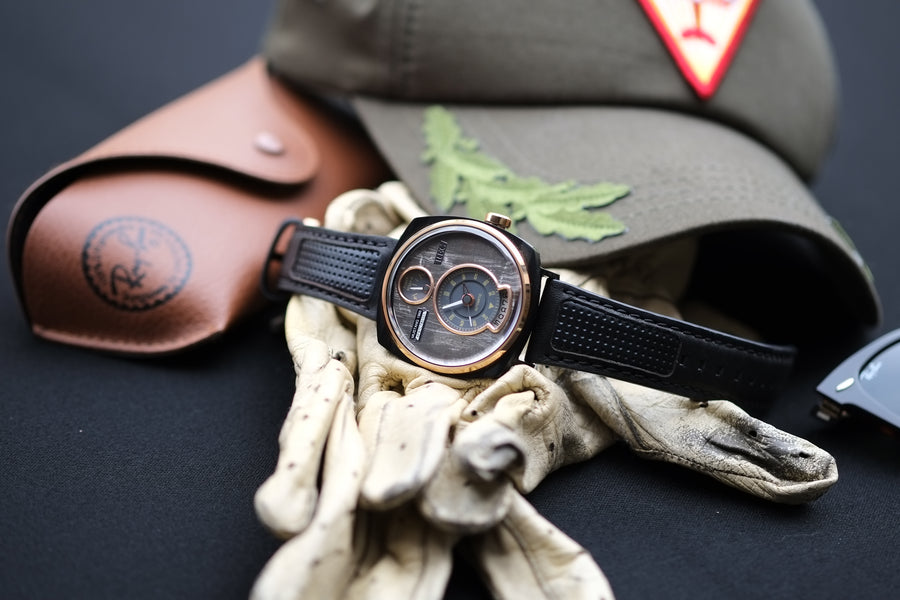 REC WATCHES P51/03 Made from a Ford Mustang - The Independent Collective Watches