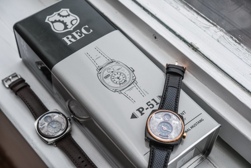 REC WATCHES P51/03 Made from a Ford Mustang
