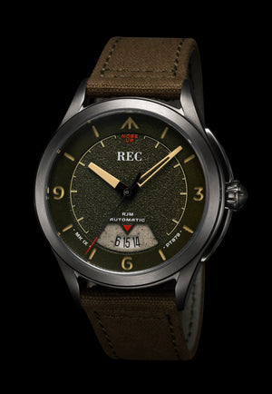 REC RJM 03: MADE FROM A WWII SPITFIRE.... SERIOUSLY - The Independent Collective Watches