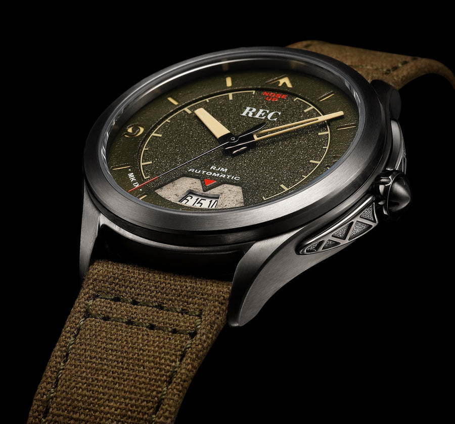REC RJM 03: MADE FROM A WWII SPITFIRE.... SERIOUSLY