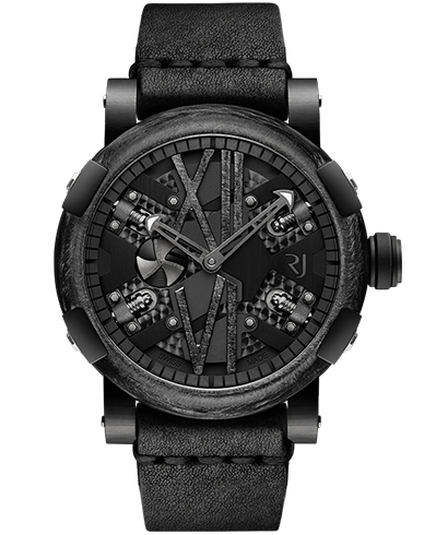 RJ STEAMPUNK BLACK GUNMETAL - The Independent Collective Watches