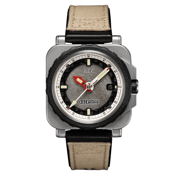 REC WATCHES ROCKFIGHTER : Made from a Land Rover Defender