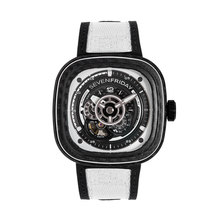 SEVENFRIDAY P3C/07 : WHITE CARBON