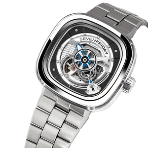 SEVENFRIDAY S1/01 CRYSTAL CLEAR : METAL UPGRADE