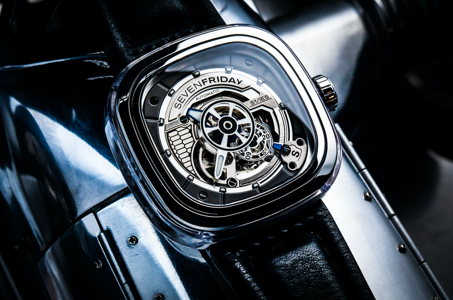 SEVENFRIDAY S1/01 CRYSTAL CLEAR