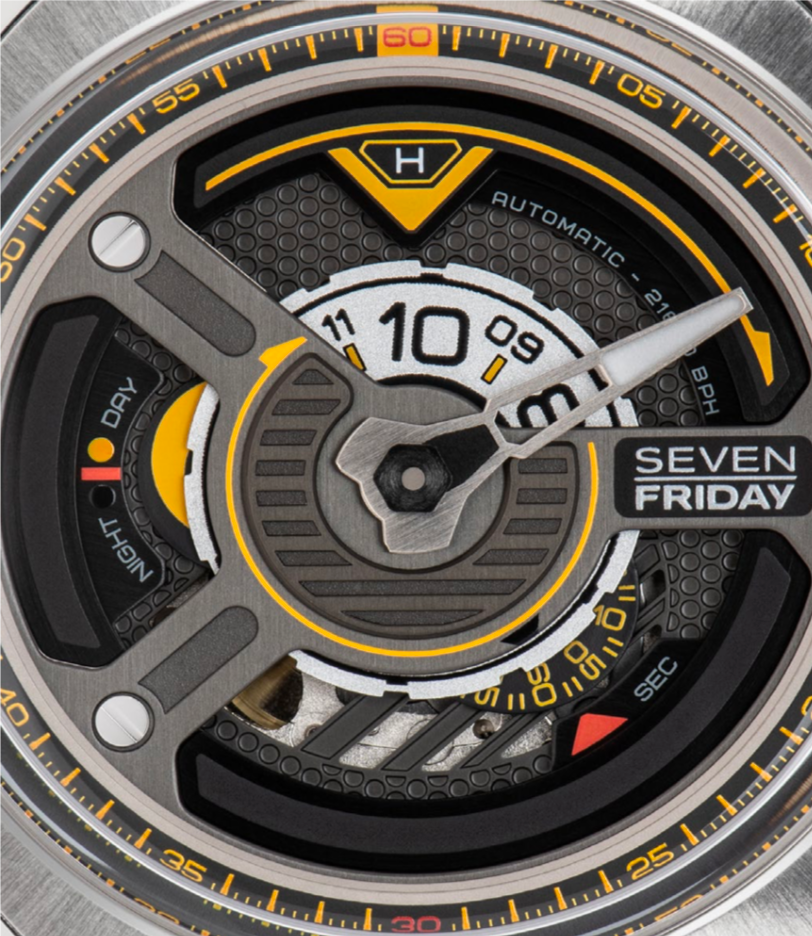 SEVENFRIDAY W1/01 : THE BLADE - The Independent Collective Watches