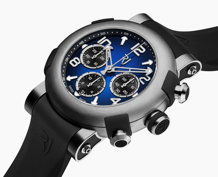 RJ ARRAW MARINE TITANIUM BLUE - The Independent Collective Watches
