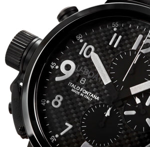 UBOAT Flight Deck 50mm : Carbon & Ceramic