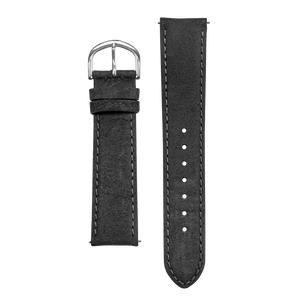 REC WATCHES GREY DISTRESSED LEATHER STRAP - The Independent Collective Watches