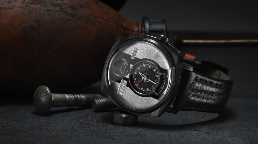 REC WATCHES P51 : Made from an Eleanor
