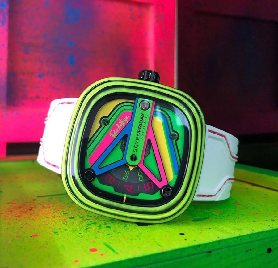 SEVENFRIDAY X ROCKETBYZ : Limited Edition of 150pieces - The Independent Collective Watches