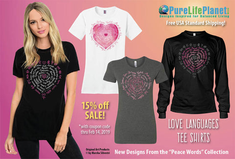 Love Tees by Marsha Silvestri