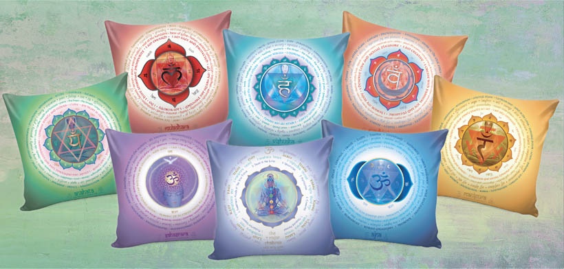 Chakra Lotus Pillow Covers