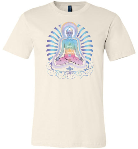 The 5 Pranic Vayus (Airs / Life-Force Flows) 2B - Unisex Crew-Neck Short Sleeve T-Shirt