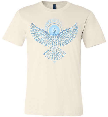 02-Universal Peace Dove 108 (OLT) Unisex Crew-Neck Short Sleeve T-Shirt