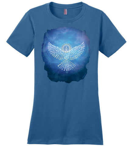 05-Universal Peace Dove 108 - Ladies Crew-Neck Short Sleeve T-Shirt