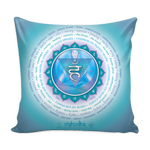 Fifth Chakra - Pillow Cover
