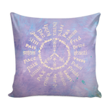 Radiate Peace 24 - Paint - Pillow Covers
