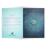Radiate Peace 500 - Greeting Cards